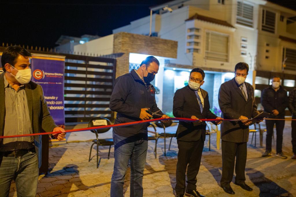 Entrega de obras en beneficio de los barrios de Riobamba no se detiene