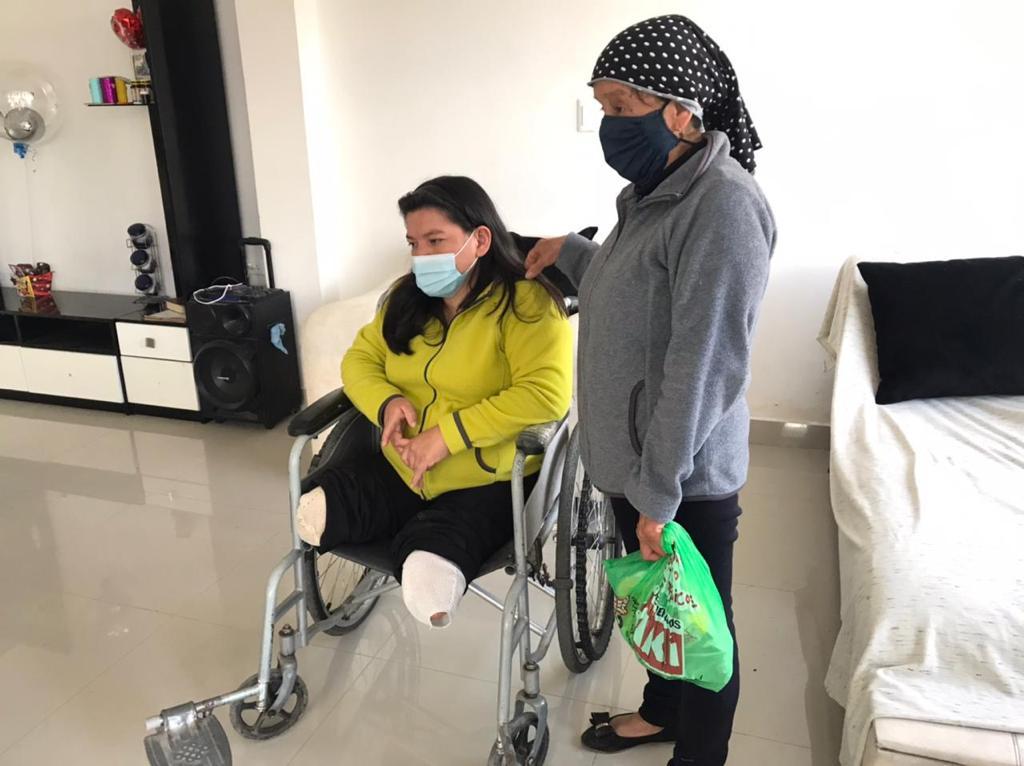 """Municipio de Riobamba y Misión """"Las Manuelas"""" visitan casos de vulnerabilidad en el cantón"""