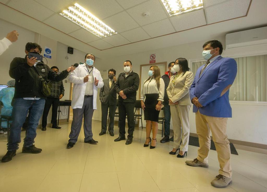 Municipio de Riobamba apoya proceso de vacunación en el Cantón